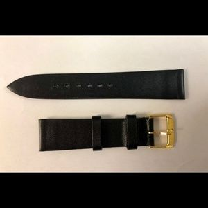 NEW Movado Nordic Calf Black Watch strap 18 mm S
